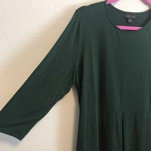 J. Jill Dresses - J. Jill Green Jersey Dress